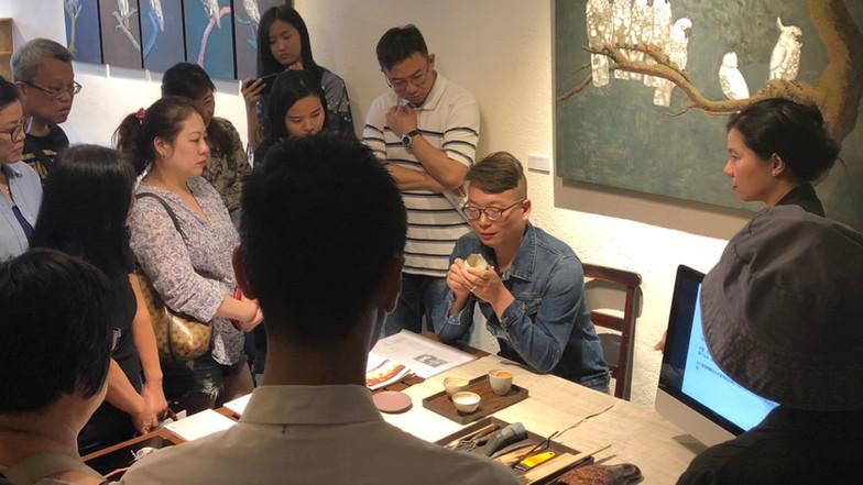 Free Seminar and Docent on Lacquer Art and Jinshan by Hong Yidong 27.10.2018