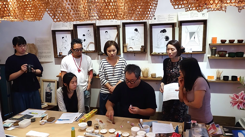 The Art of Lacquer Workshop: Chinkin and Kintsugi 19-20.08.2017