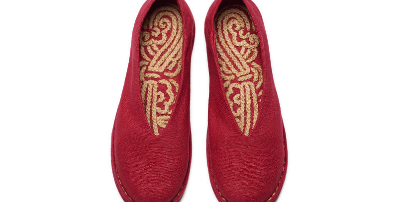 Classic Kung Fu Shoes with Embroidery Insole