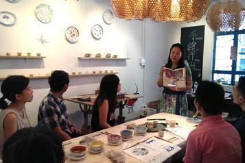 Overglazed Pottery Painting Workshops 釉上彩手繪陶器工作坊