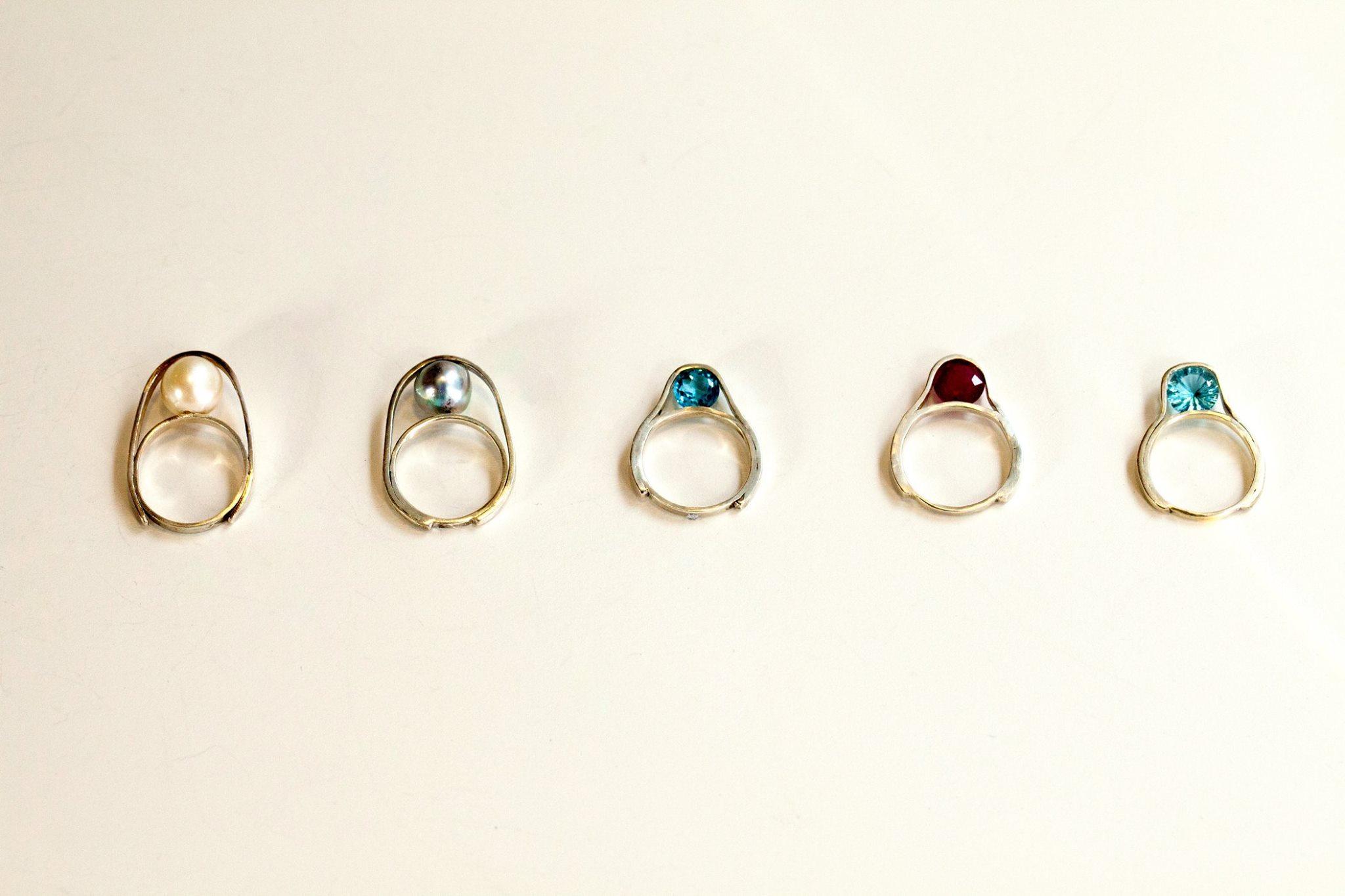 O rings by Mariko Tsuchiyama x SOIL