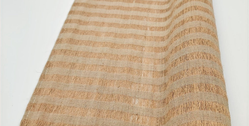 Ramie Table Runner with Thin Stripes