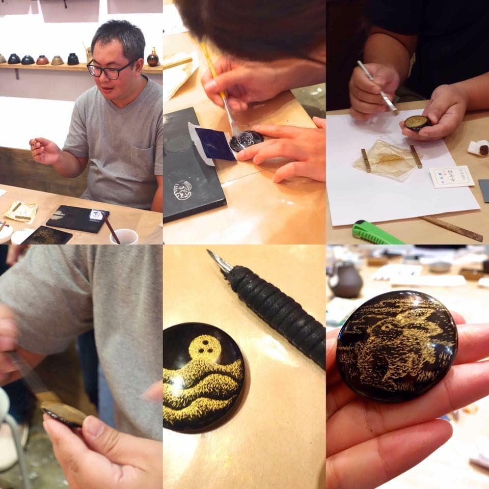 soil-lacquer-workshop-Chinkin-Lacquer-Art-Lacquerware-漆藝-漆器