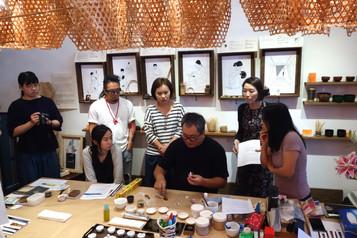 The Art of Lacquer Workshop: Chinkin and Kintsugi 漆彩體驗 : 沈金與金繼
