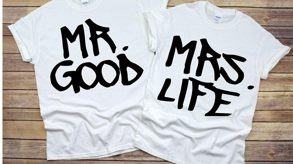 Couple Bundle- Mr. & Mrs. Good Life