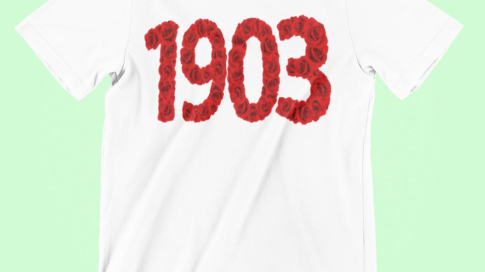 1903 Roses tee
