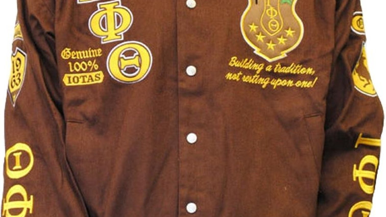 Iota Phi Theta Embroidered Jacket