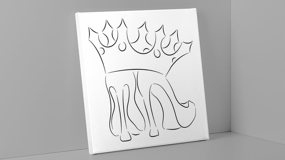 Pop & Paints Kits- Queendom