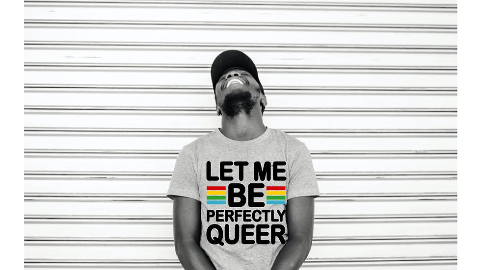 """""""Perfectly Queer"""" tees"""
