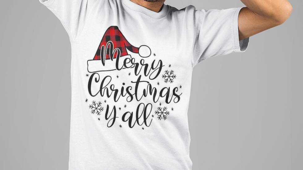 Merry Xmas Yall t shirt