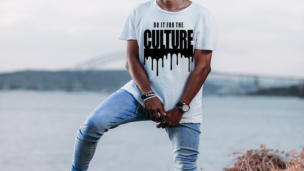 """""""For the Culture"""" tee"""