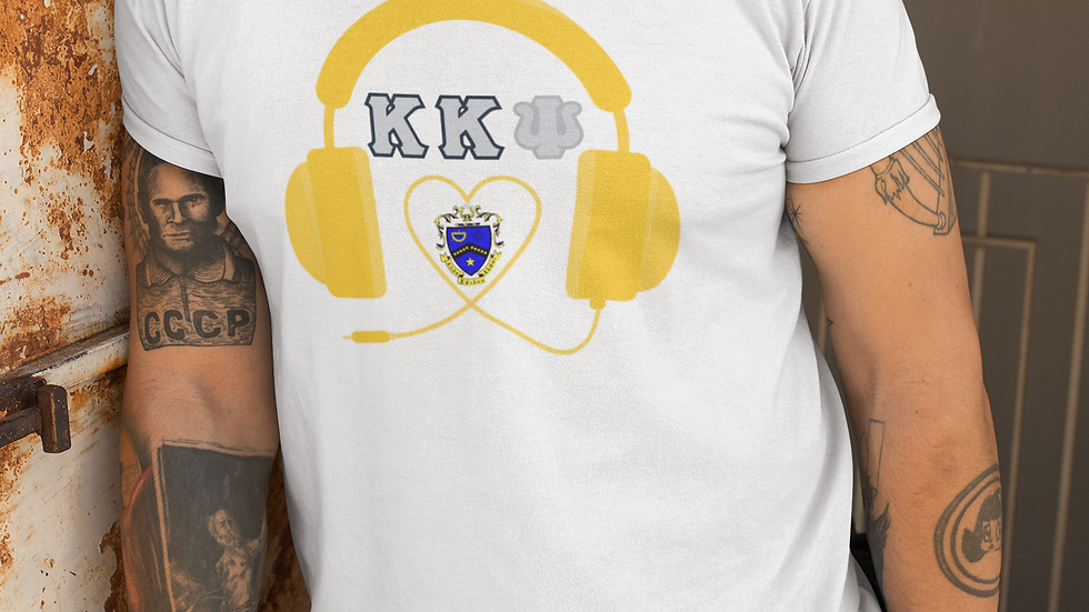 KKPsi Headphones t shirt
