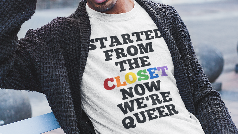 """""""Started from the Closet"""" tee"""