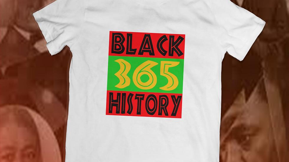 """""""Black 365"""" tee"""