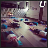 Blessed savasana..