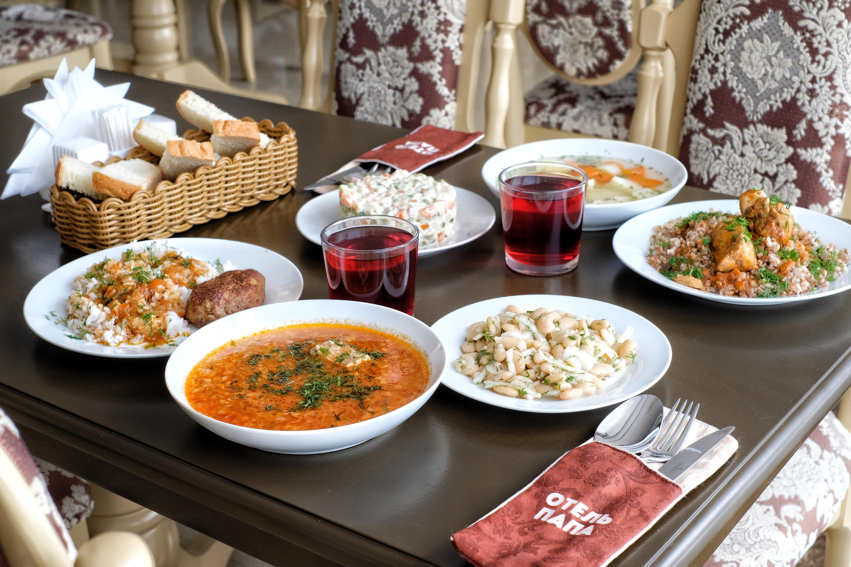 Пример обеда