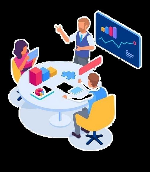 business-people-meeting-isometric-illust