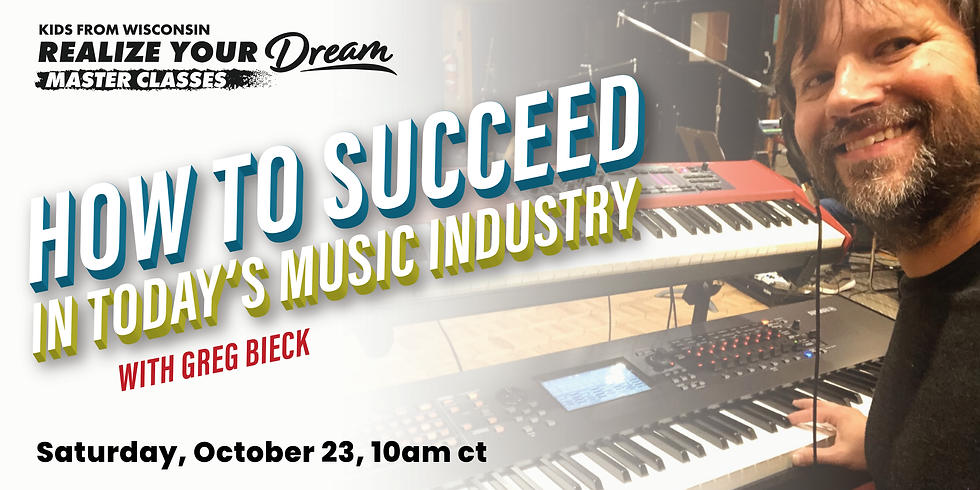 How to Succeed in Today's Music Industry