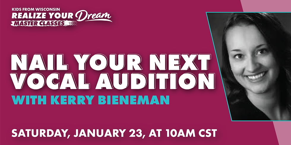 Nail Your Next Vocal Audition