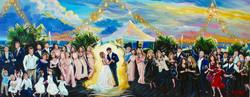 Beach Wedding Painting