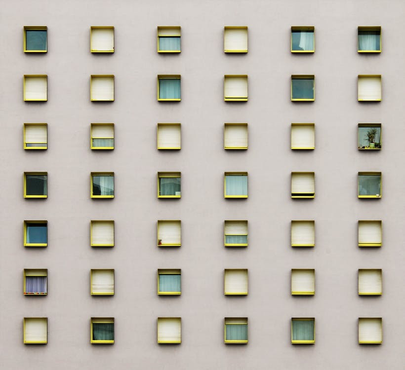 Yellow Frame Windows