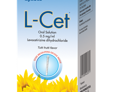 L CET 0.5MG/ML ORAL SOLUTION 100ML