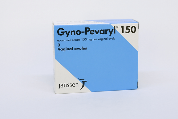 GYNO PEVARYL 150 VAGINAL SUPPOSITORIES 3 PIECES