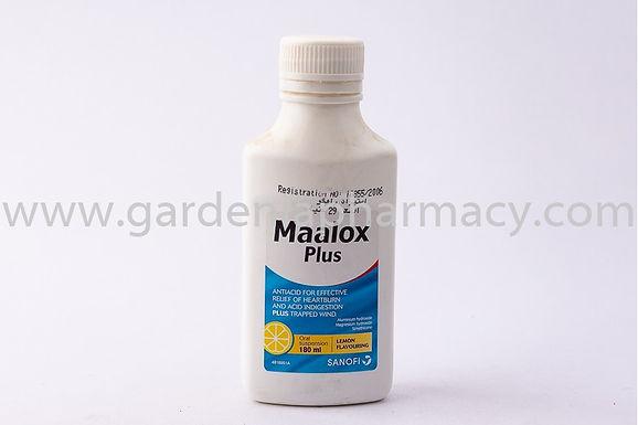 MAALOX PLUS SUSP 355ML