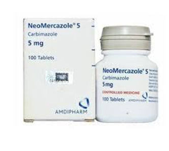NEOMERCAZOLE 5MG 100 TABLETS