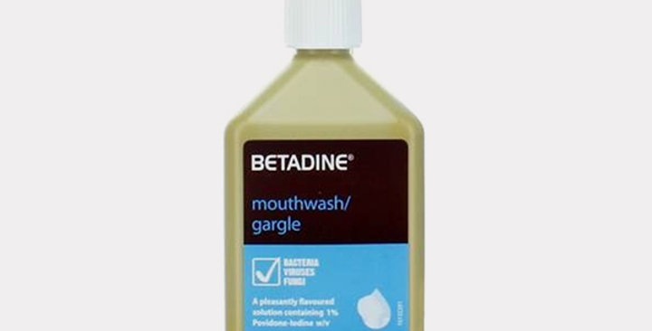 BETADINE MOUTH WASH 125ML