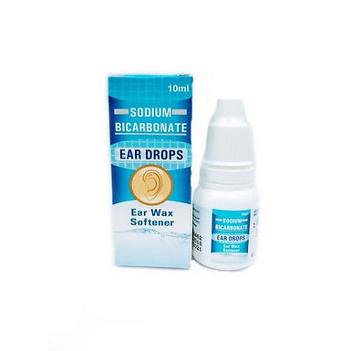 SODIUM BICARBONATE EAR DROPS 2% 15 ML