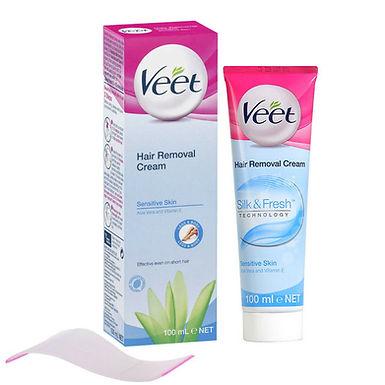 VEET HAIR CREAM-SENS/ALOE VERA&VITA E 100ML