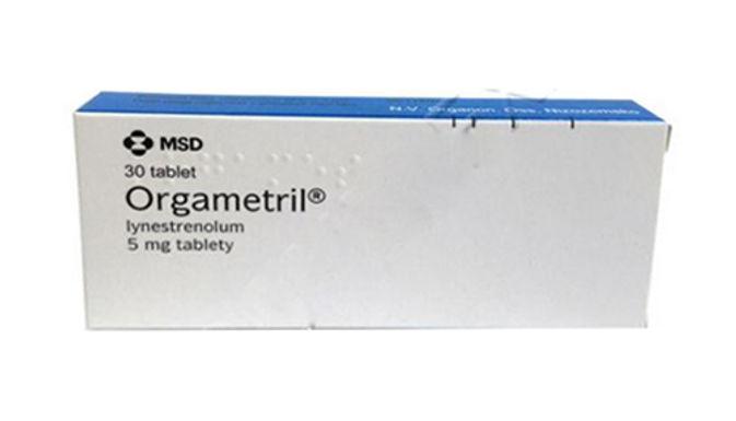 ORGAMETRIL 5 MG 30 TABLETS