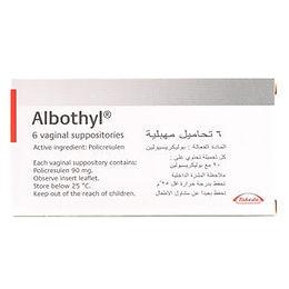 ALBOTHYL VAGINAL OVULES 6'S