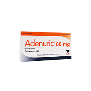 ADENURIC 80MG 28 TABLETS