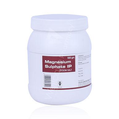 VILCOLAB MAGNESIUM SULPHATE (EPSOM SALT) POWDER 500G
