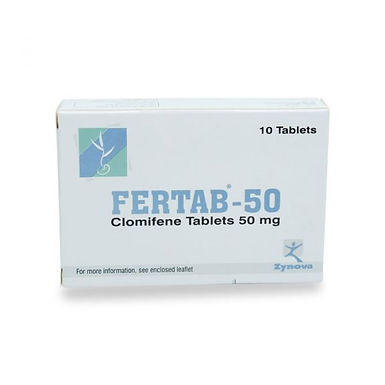 FERTAB 50MG 10 TABLETS
