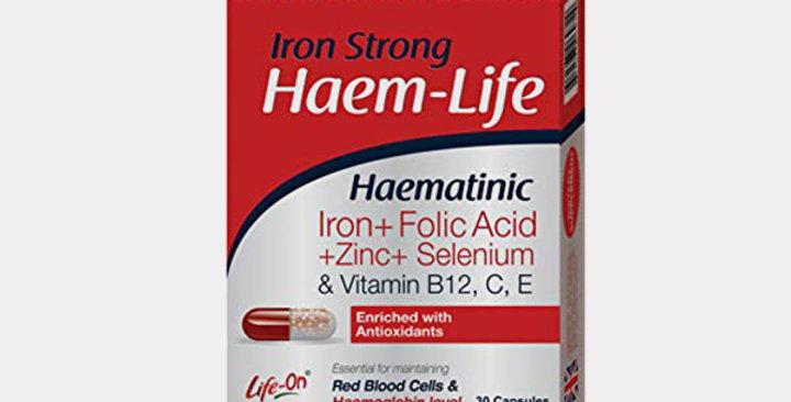 LIFE-ON HAEM-LIFE CAP 30'S