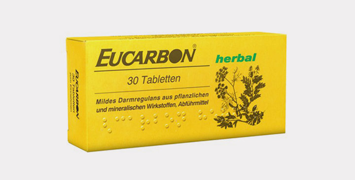 EUCARBON HERBAL TAB 30'S **