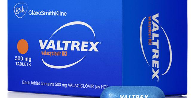 VALTREX 500MG TAB 10'S *