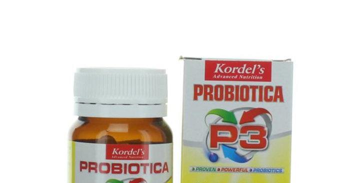 KORDEL'S PROBIOTICA P3 CAP 30'S