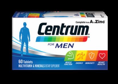 CENTRUM MEN MULTIVITAMINE TAB 60`S