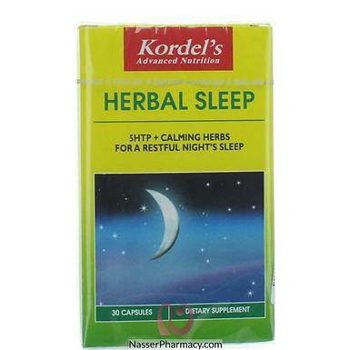 KORDEL'S HERBAL SLEEP CAP 30'S