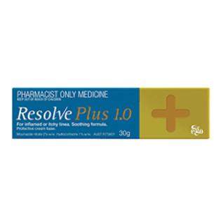 RESOLVE PLUS 1.0% CREAM 30G