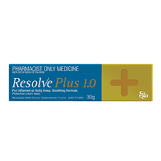RESOLVE PLUS 1.0% CREAM 30G