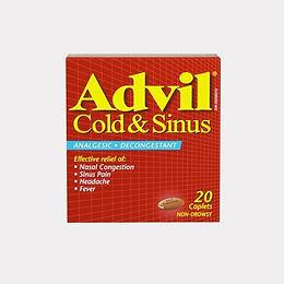 ADVIL COLD & SINUS CAPLETS 20'S