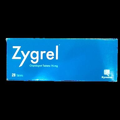 ZYGREL 75MG 28 TABLETS