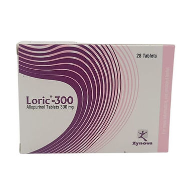 LORIC 300MG 28 TABLETS