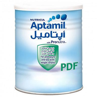 APTAMIL PDF MILK 400G