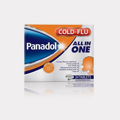 PANADOL ALL IN ONE TAB 24'S